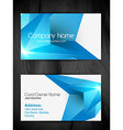 creative business card vector image vector image