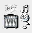 music elements to play harmony rhythm vector image vector image