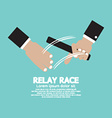 Relay Race vector image vector image