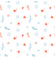 seamless additional pattern for movie theme vector image vector image