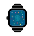 Smart watches brain vector image