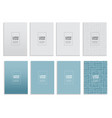big collection set of simple minimal covers vector image