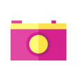 coloured of a camera vector image vector image