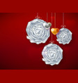 decorative paper art balls