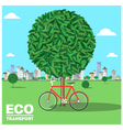 ecotransport vector image vector image