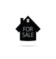 for sale icon house vector image