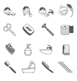 Hygiene Icons Black vector image vector image
