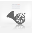 Music wind instruments icon vector image vector image