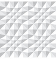 seamless 3d geometric pattern vector image vector image