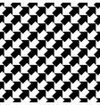 seamless black and white arrows pattern vector image vector image