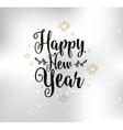 Happy New Year typographic design vector image