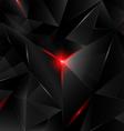 Black crystal vector image