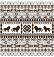 African ethnic motifs vector image vector image
