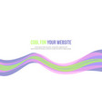 banner abstract background style collection vector image vector image