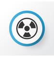 bio hazard icon symbol premium quality isolated vector image vector image