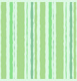 green striped watercolor background seamless vector image vector image