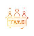 group avatar icon design vector image vector image