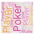 online poker rooms2 text background wordcloud vector image vector image