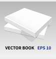 paper book-05 vector image vector image