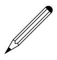 pencil icon simple design pencil icon sign vector image