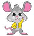 Rat Waving vector image