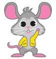 Rat Waving vector image vector image