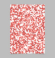 red dot pattern brochure background - stationery vector image vector image