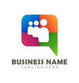 social media logo and icon design vector image