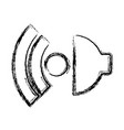 speaker icon image vector image vector image