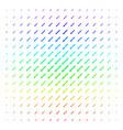 sword shape halftone spectral effect vector image vector image