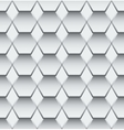 Abstract grey and white pattern for tiles vector image