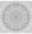 adult colouring book page vector image vector image