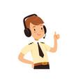 air traffic controller character boy in uniform