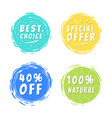 best choice special offer 40 off 100 natural vector image vector image