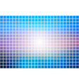 blue shades pink square mosaic background over vector image