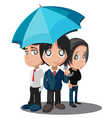 Business Worker Cartoon Characters Group vector image