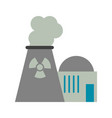 nuclear plant icon image vector image vector image