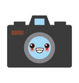 photographic camera symbol kawaii cute cartoon vector image