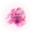 Pink watercolor abstract background