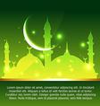 ramadan and eid background vector image