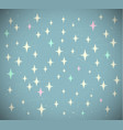 retro starry background vector image vector image