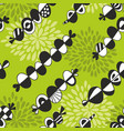 seamless pattern with abstract elements vector image vector image