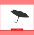umbrella icon rain protection concept vector image