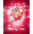 valentines day with 3d love
