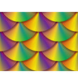 vibrant holographic circles seamless pattern vector image