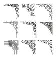 corners vector image
