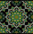 aboriginal dot painting seamless pattern bohemian vector image vector image