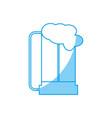 beer jar icon vector image