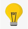 big bulb idea light creativity vector image