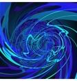 Blue abstract stylish fantasy background EPS8 vector image